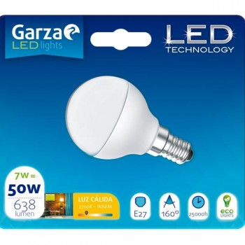 Garza Bombilla led std 7w E27 160º
