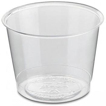 Bunzl Paquete 70 vasos compostables para bebidas frías 35 ml