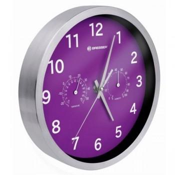 Pilalip Reloj de oficina Pilalip Bresser violeta
