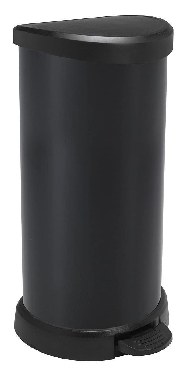 Cubo CURVER con pedal 20,5x28x29cm. 40l NEGRO