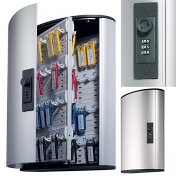 Durable Armario para llaves KEY BOX Durable con cerradura de combinación y capacidad para 72 llavero