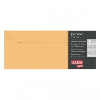 APLI Sobre 110x220 colores pack 5