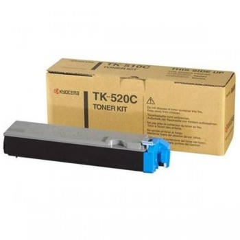 KYOCERA Toner laser TK-520C cyan 4k original