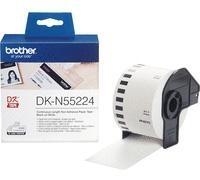 BROTHER Rollo de papel contínuo no adhesivo DK-55224 (54mm. x 30,48mm.)