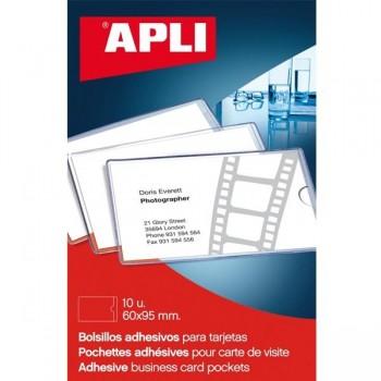 APLI Funda para tarjeta visita con tapa (p10)