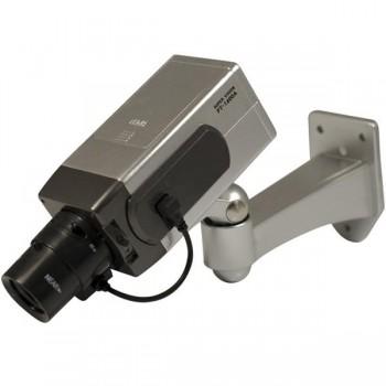Cámara de seguridad falsa indicador de luz y sensor de movimiento