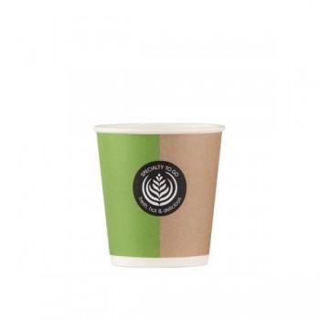 Bunzl Pack 50 vasos compostables de papel 125ml