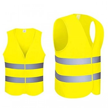 Bunzl Chaleco reflectante amarillo