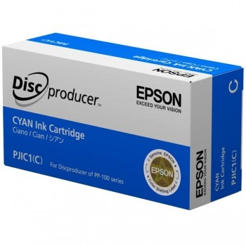 EPSON Cartucho S020447 para disc producer pp-100 CYAN (PJIC1)